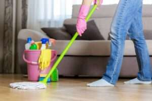 REMOVE STAIN SPOTS IN THE LIVING ROOM