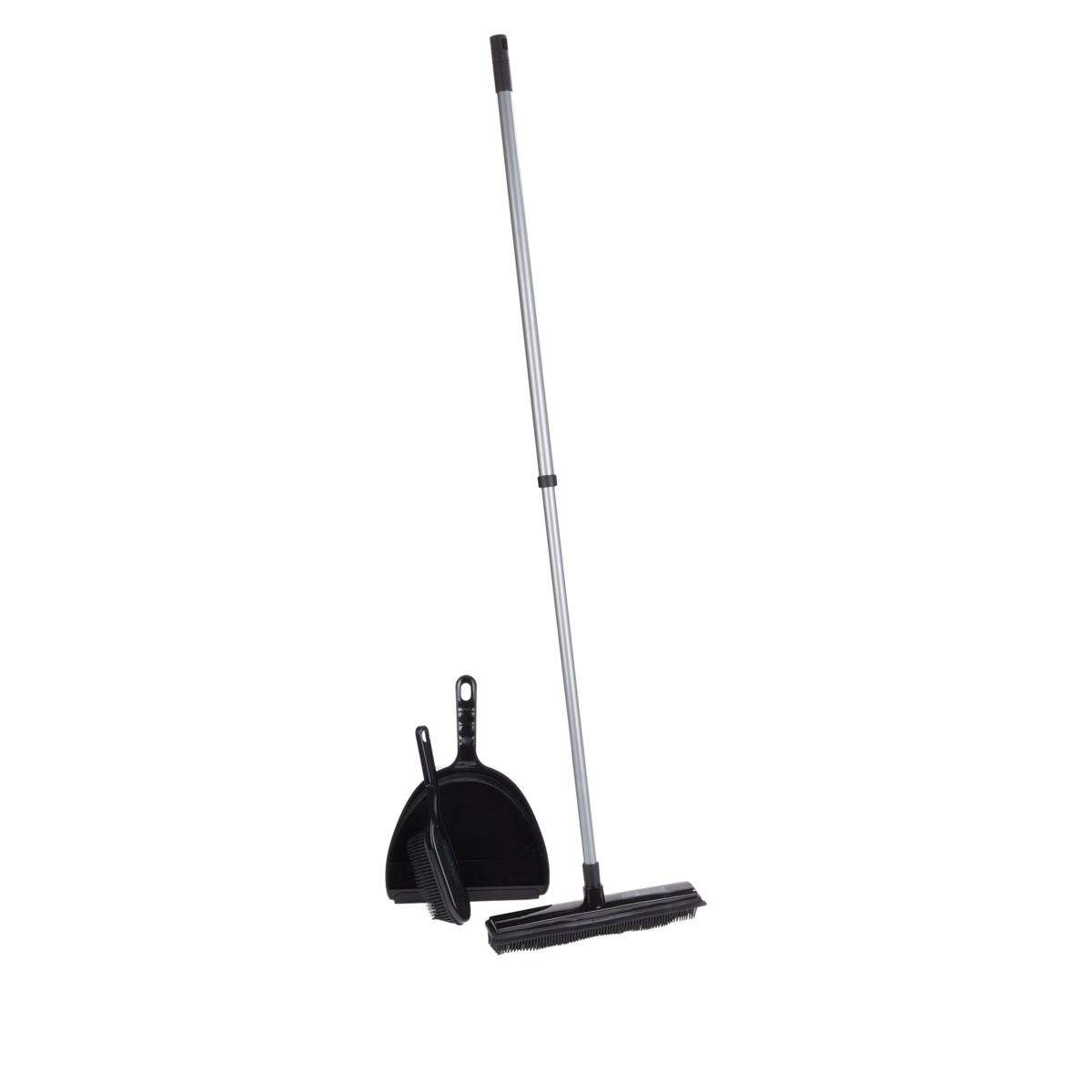 Rubber Broom Set